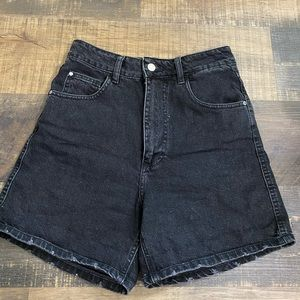 ZARA high waisted mom shorts